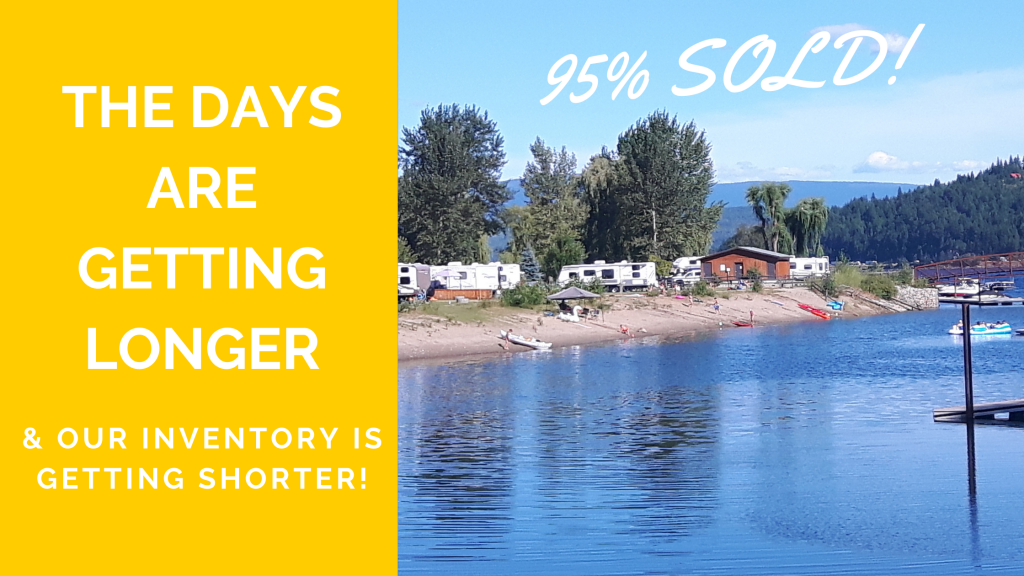 rv lots for sale on shuswap lake