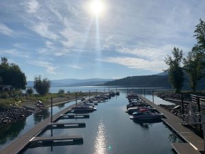 rv lots for sale on shuswap lake, BC